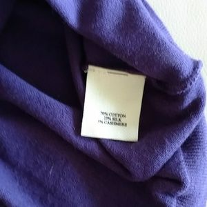 Rebecca Moses Tops - Deep Purple Sweater Tank